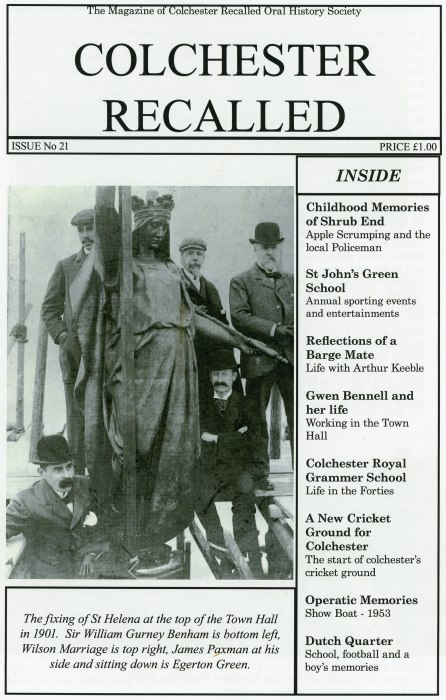 Colchester Recalled Magazine
